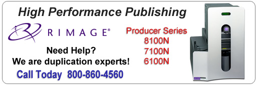 Rimage Producer Series Publishing Systems